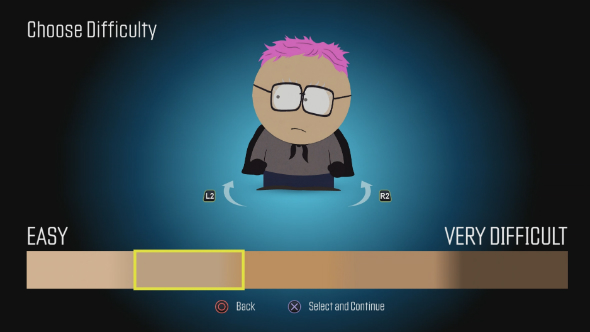 south park fractured but whole difficulty